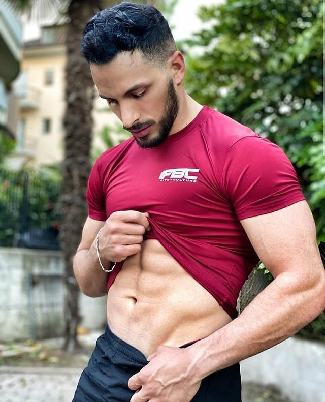 Men FBC Slim Compression Fitness Shirts 2