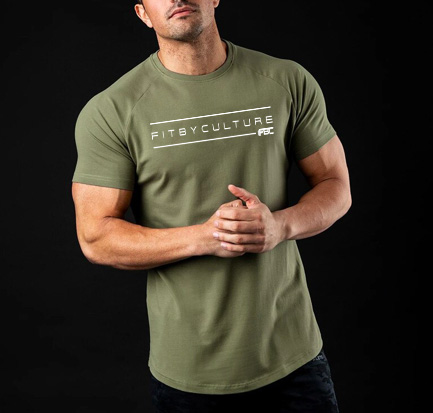 Caged Fogo 2.0 fitness Tee shirt