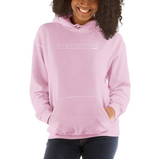 unisex heavy blend hoodie pink