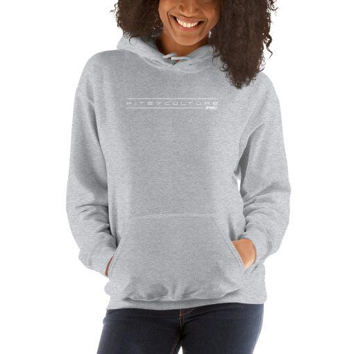 unisex heavy blend hoodie grey
